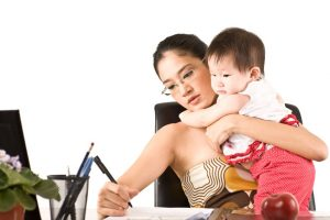 Majka koja piše knjigu